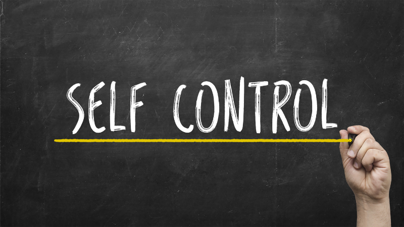 Self Control Is Overrated